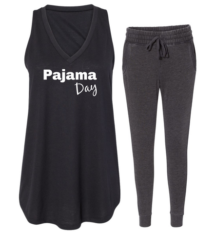 "Rockabye ""Pajama Day"" Women's Tank Sleep Set"