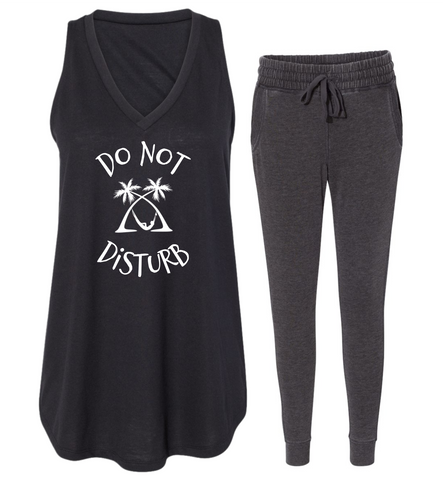 "Rockabye ""Do Not Disturb"" Women's Tank Sleep Set"