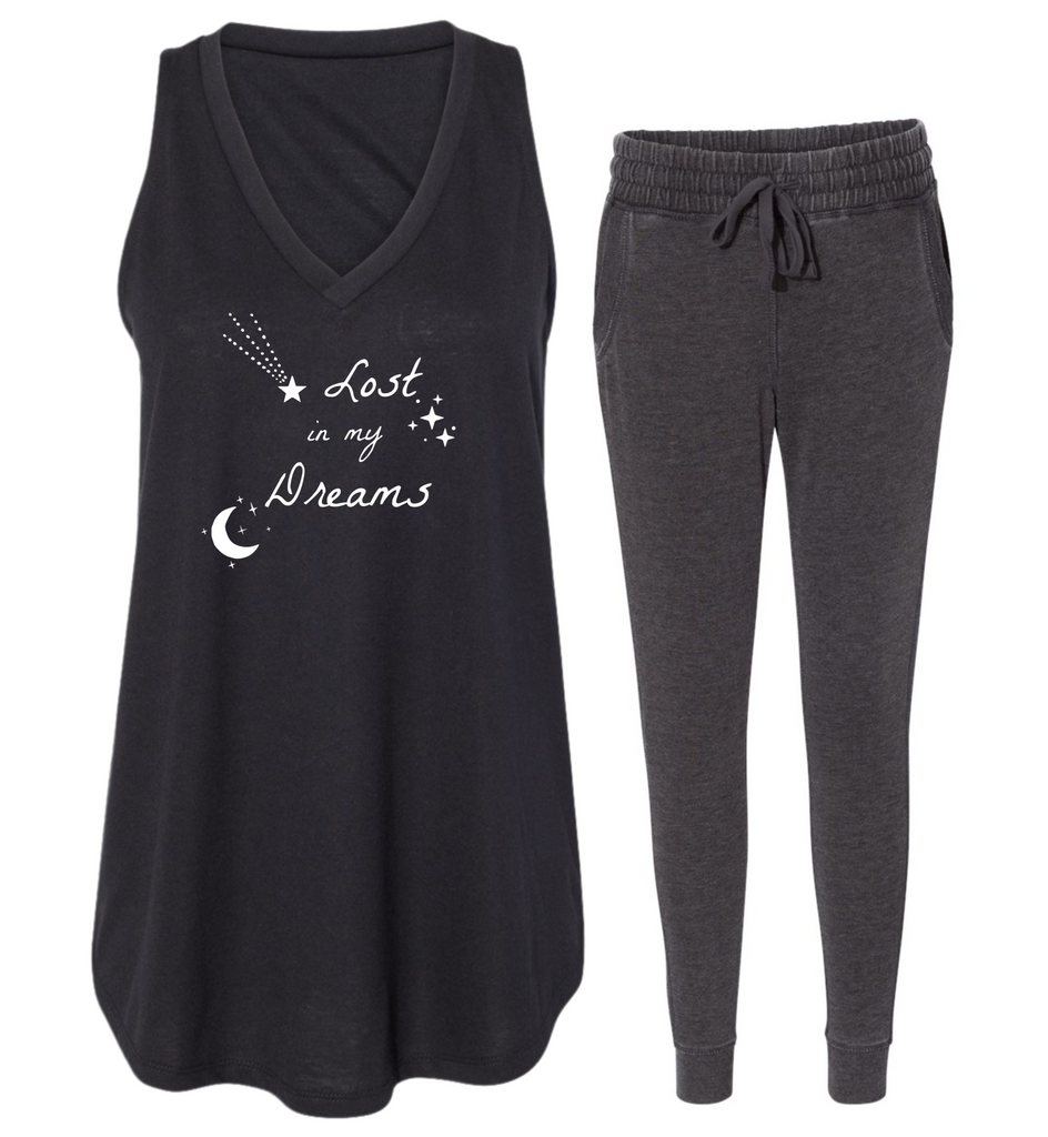 "Rockabye ""Lost in My Dreams"" Women's Tank Sleep Set"