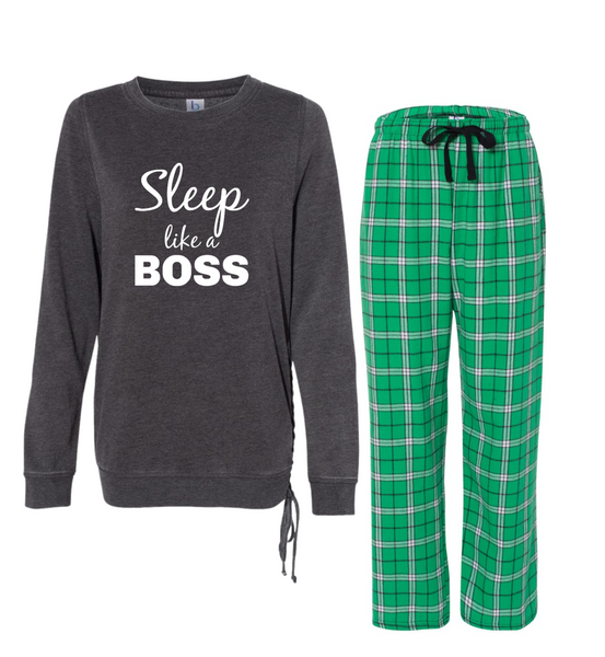 "Rockabye ""Sleep Like a Boss"" Women's Super Cozy Sleep Set"