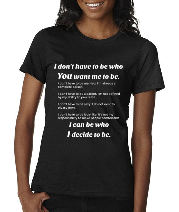 "Etab Apparel, etc. ""Don't Have To Be"" T-shirt"