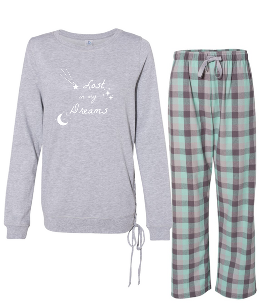 "Rockabye ""Lost in My Dreams"" Women's Super Cozy Sleep Set"