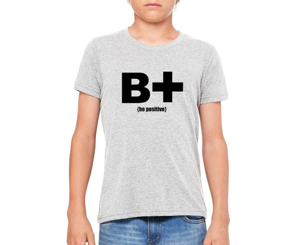 "Youth ""Be Positive"" T-shirt"