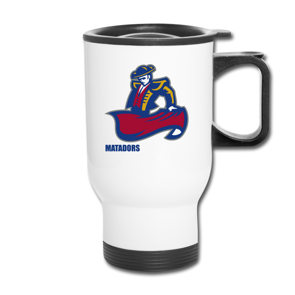"SMHS ""Logo"" Travel Mug - white"