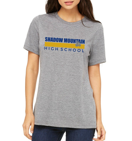 "SMHS Women's ""Color Stripe"" T-shirt"
