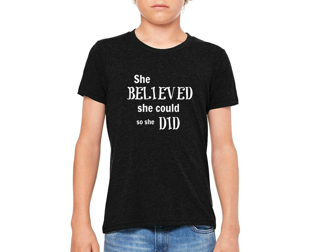 "Youth ""She Believed"" T-shirt"