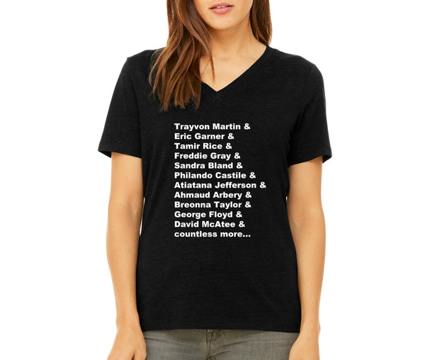 "Women's ""Remember Their Names"" T-shirt"