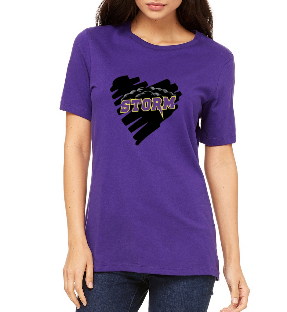 "Paseo Verde Women's ""Heart"" T-shirt"