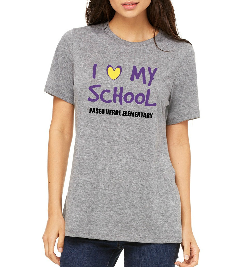"Paseo Verde Women's ""Love My School"" T-shirt"