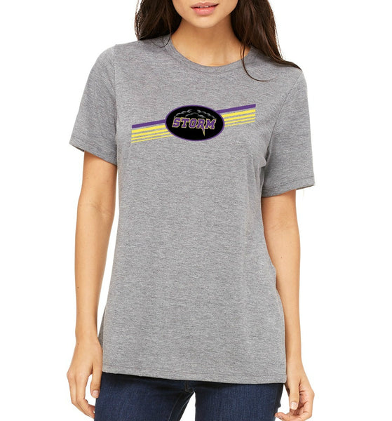 "Paseo Verde Women's ""Stripes"" T-shirt"