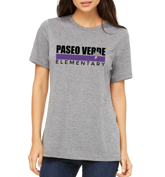 "Paseo Verde Women's ""Color Stripe"" T-shirt"