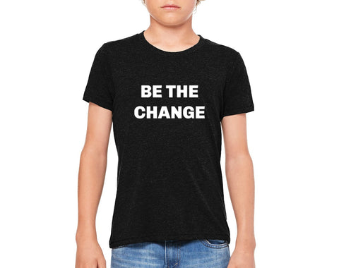 "Youth ""Be the Change"" T-shirt"