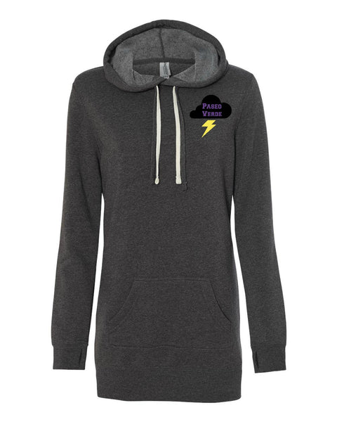 "Paseo Verde Women's ""Logo"" Hooded Pullover Dress"