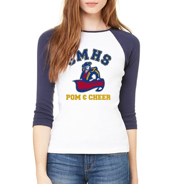 SMHS Pom & Cheer Women's Raglan T-shirt
