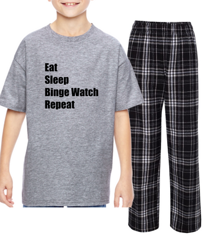 "Rockabye ""Binge Watch"" Youth Sleep Set"