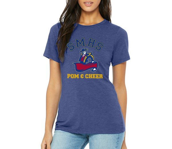 SMHS Pom & Cheer Women's Scoop Neck T-shirt