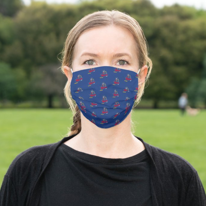 "SMHS ""Logo"" Cloth Face Mask"