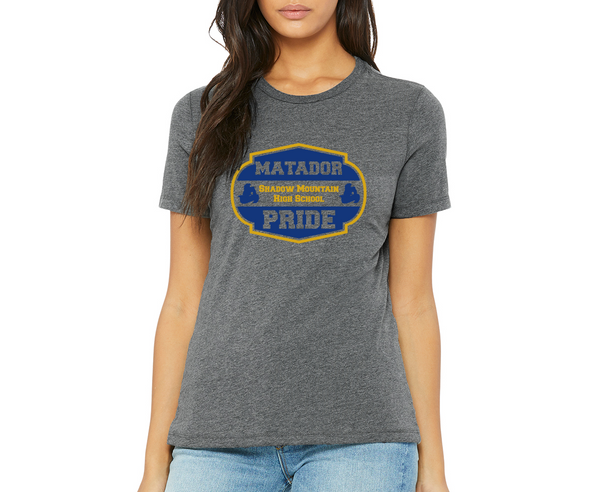 "SMHS *NEW* Women's ""Matador Pride"" T-shirt"