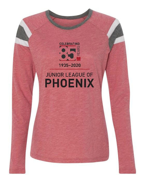 "JLP Women's ""85th Anniversary"" Long Sleeve Fanatic T-shirt"