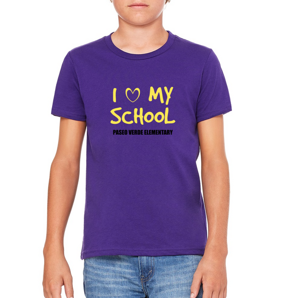 "Paseo Verde Youth ""Love My School"" T-shirt"