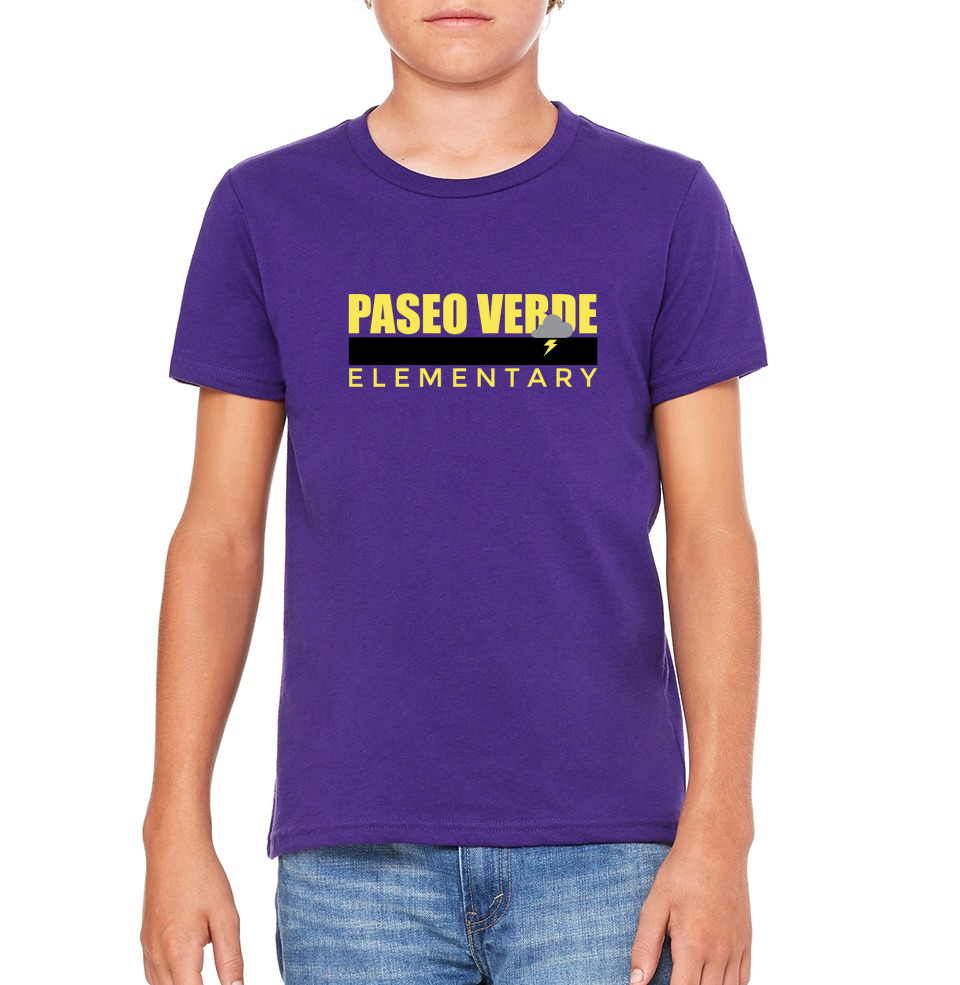 "Paseo Verde Youth ""Color Stripe"" T-shirt"