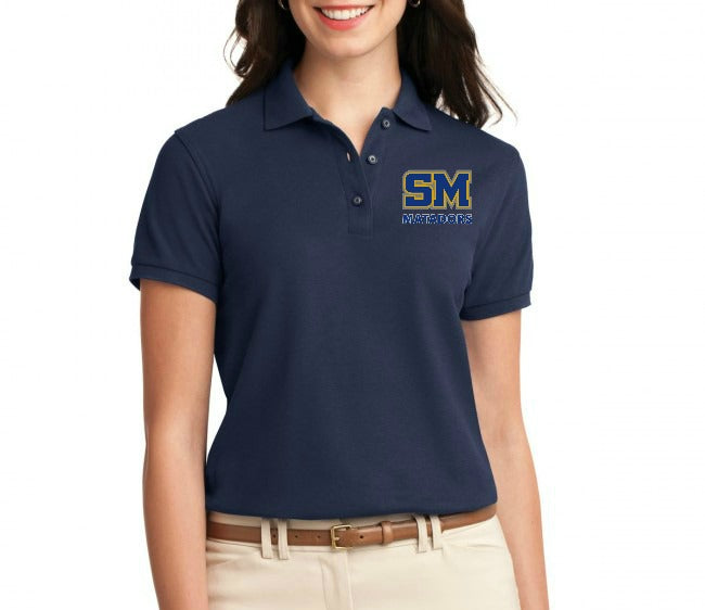 "SMHS Women's ""Logo"" Polo Shirt"