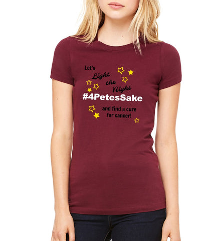 "LLS Women's ""Team 4PetesSake"" T-shirt"