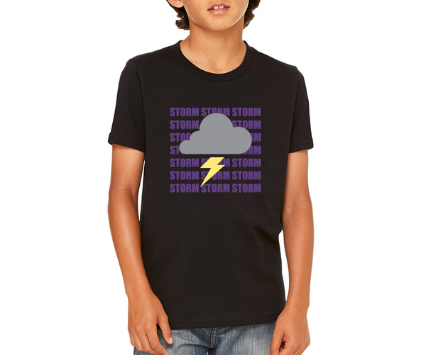 "Paseo Verde Youth ""Storm Cloud"" T-shirt"