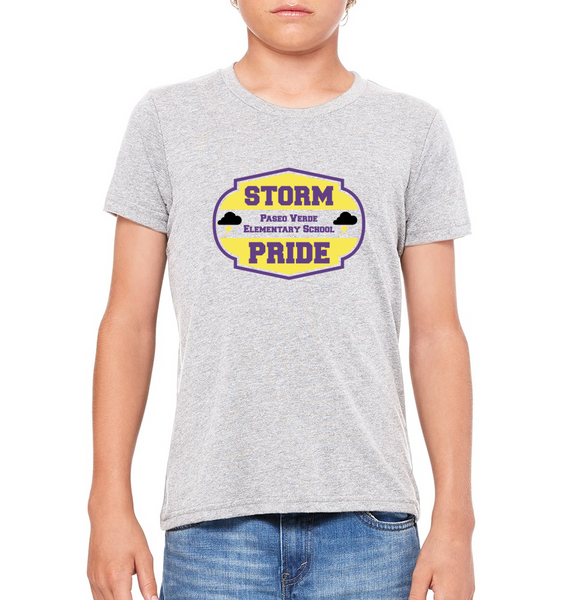 "Paseo Verde Youth ""Storm Pride"" T-shirt"