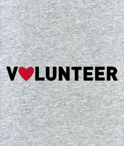"JLP Unisex ""Volunteer"" T-shirt"