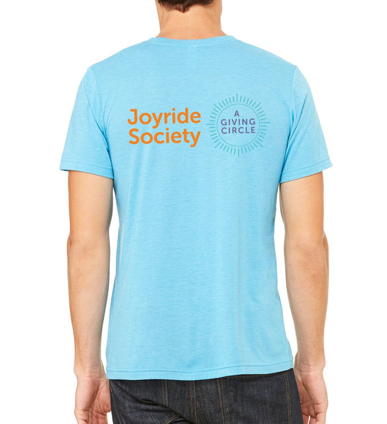 "Joyride Society Unisex ""Give, Vote, Spread Joy"" T-shirt"