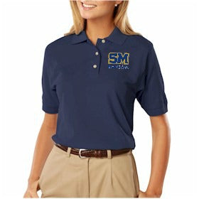 "SMHS Women's ""Embroidered Logo"" Polo Shirt"