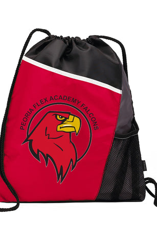 Peoria Flex Academy Drawstring Backpack