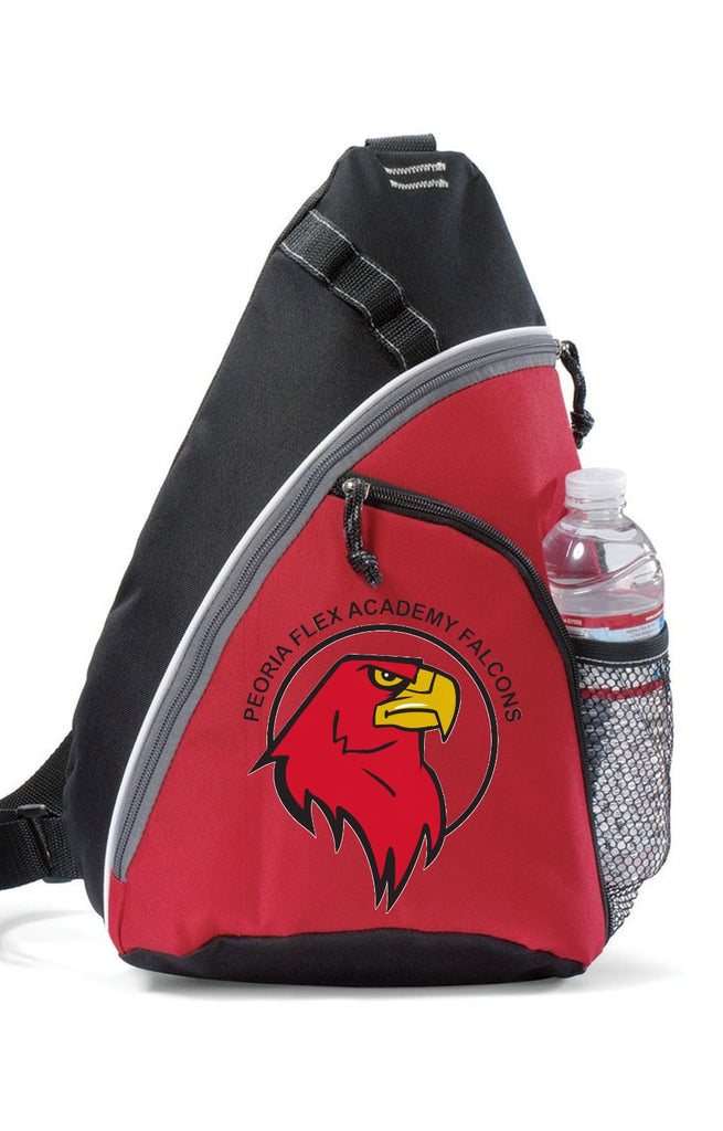 Peoria Flex Academy Sling Shot Backpack
