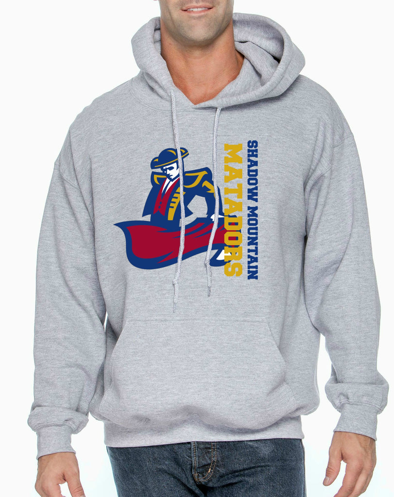 "SMHS Unisex ""Vertical Logo"" Pullover Hoodie"