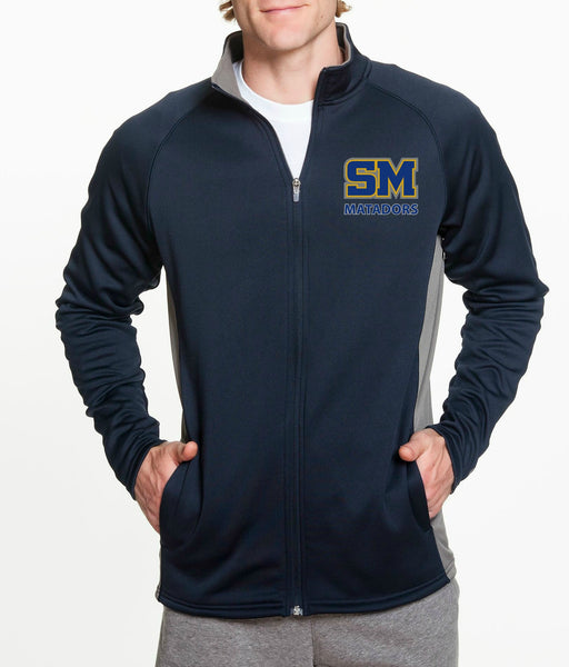 "SMHS Unisex ""Logo"" Fleece Zip Jacket"