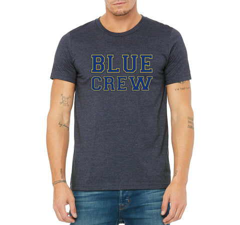 "SMHS Pom & Cheer Unisex ""Blue Crew"" T-shirt"