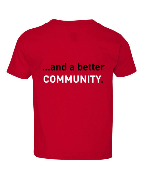"JLP Toddler ""Better Community"" T-shirt"