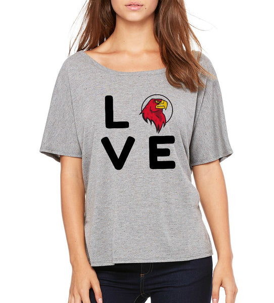 "Peoria Flex Academy Women's ""Love"" T-shirt"