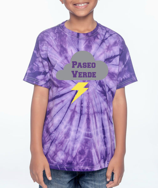 "Paseo Verde Youth ""Tie Dye"" T-shirt"