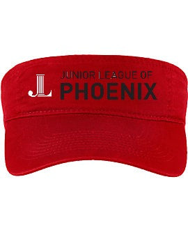 "JLP **LAST CHANCE** ""Embroidered Logo"" Visor"
