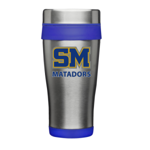 "SMHS ""Logo"" Stainless Steel Travel Mug"