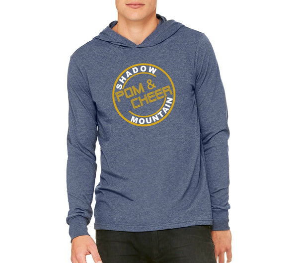 "SMHS Pom & Cheer Unisex ""Circle Logo"" Lightweight Pullover Hoodie"
