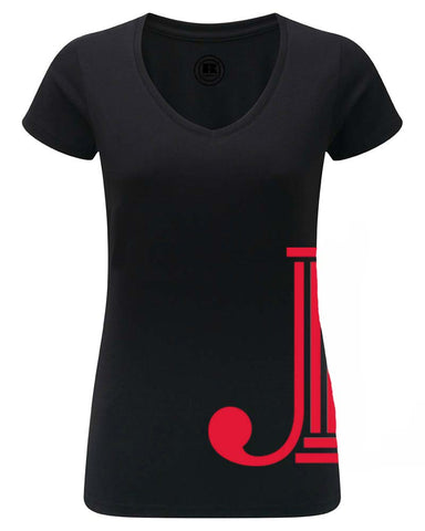 "JLP **LAST CHANCE** Women's ""Side Logo"" T-shirt"