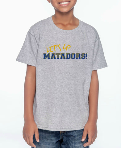 "SMHS Youth ""Let's Go"" T-shirt (Standard)"