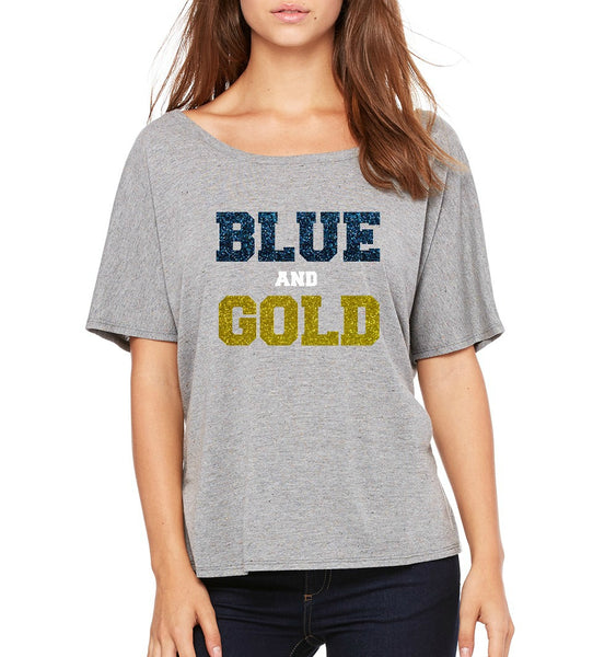 "SMHS Women's ""Blue and Gold"" T-shirt"