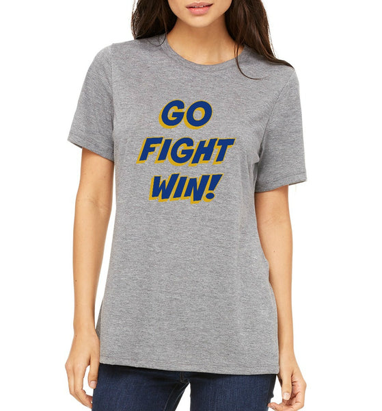 "SMHS Women's ""Go, Fight, Win"" T-shirt"