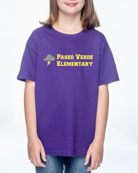 "Paseo Verde Youth ""School Name"" T-shirt"