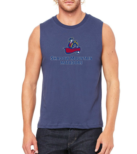 "SMHS Unisex ""Logo"" Muscle Tank"