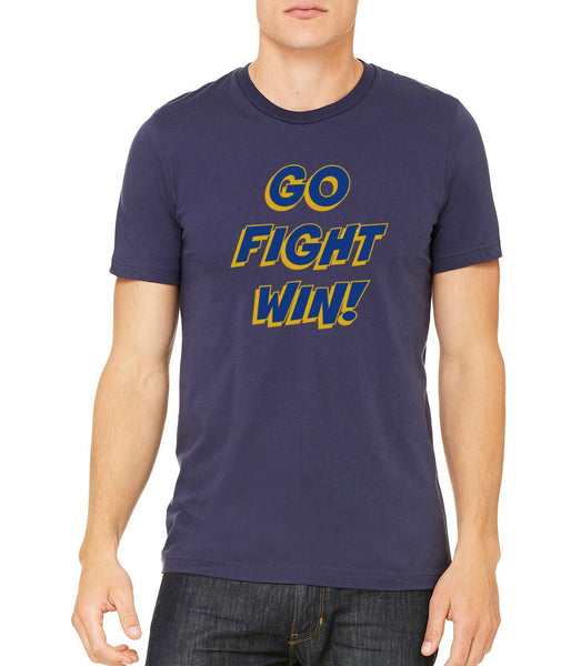 "SMHS Unisex ""Go, Fight, Win"" T-shirt"